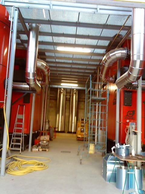 Raccordements chaudière Biomasse